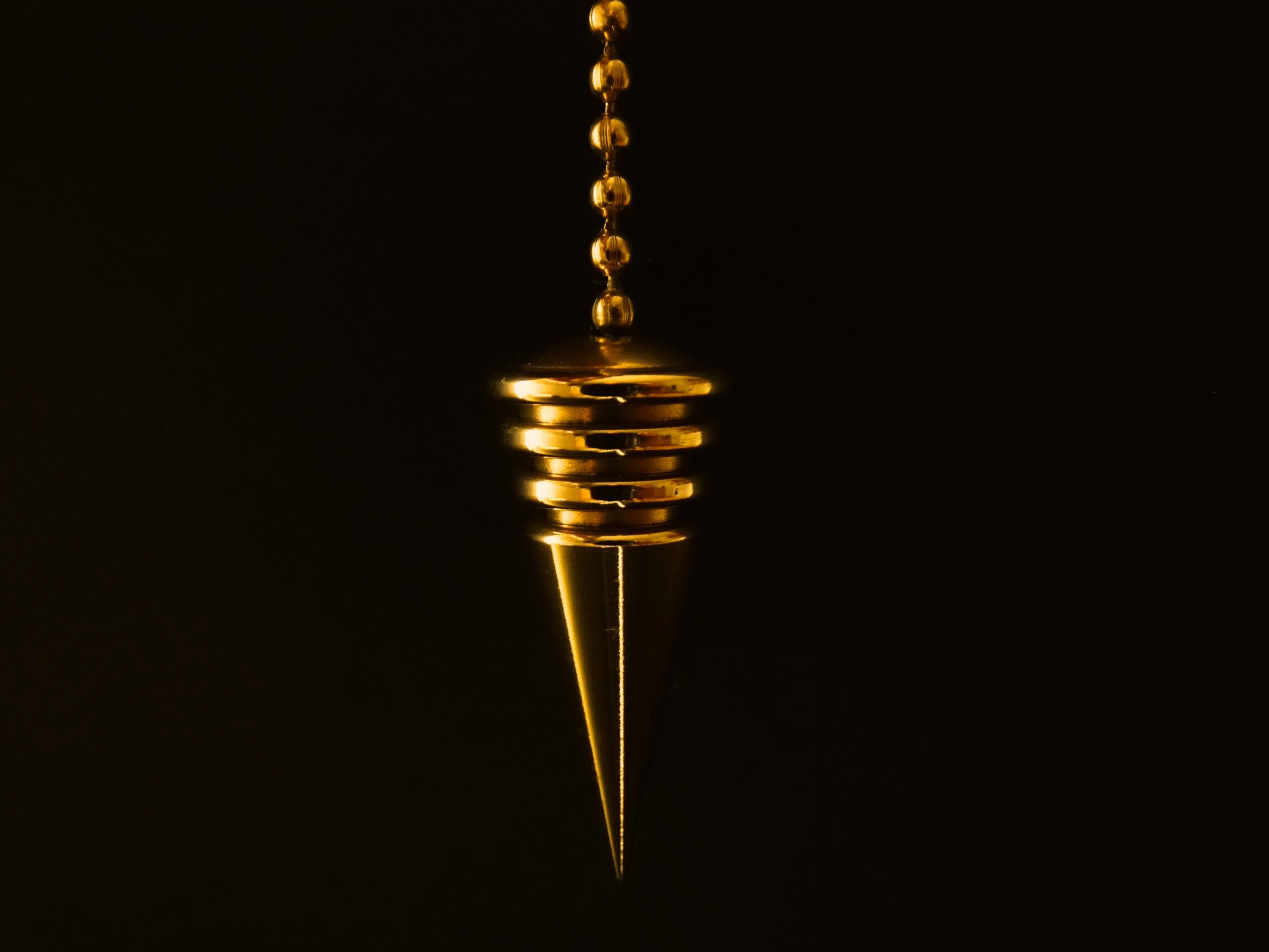 pendulum, cone, chain